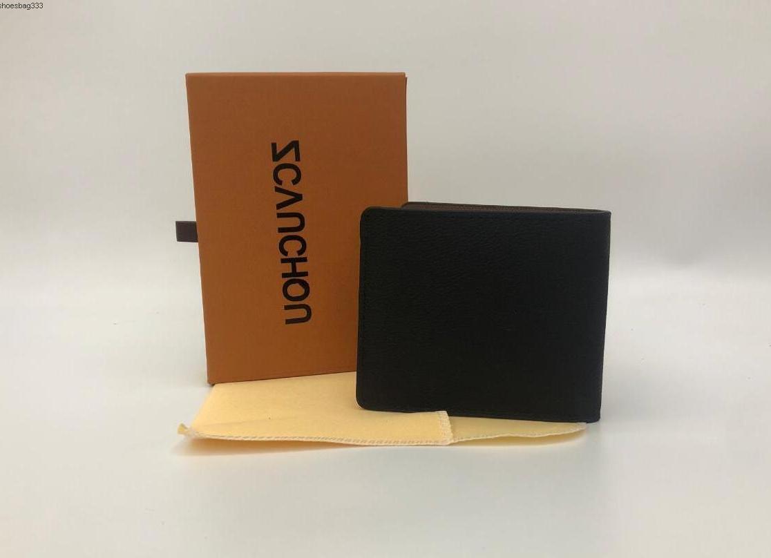 2020 Style Designer Cuir Cuir Cross-Porte-Porte-Porte-Porte-Porte-Porte-Porte-Porte-Porte-Porte-Pochettes de poche Européenne Marque Carte d'homme avec boîte avec boîte UONS