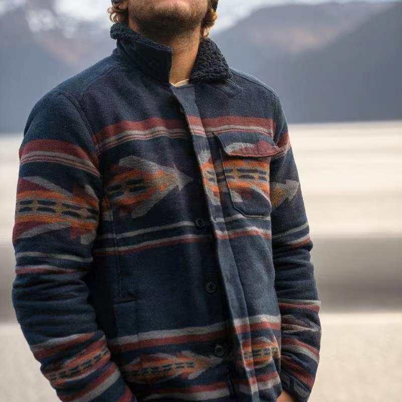 2020 Новая мужская куртка с уличным досугом Личности Расположение Печать