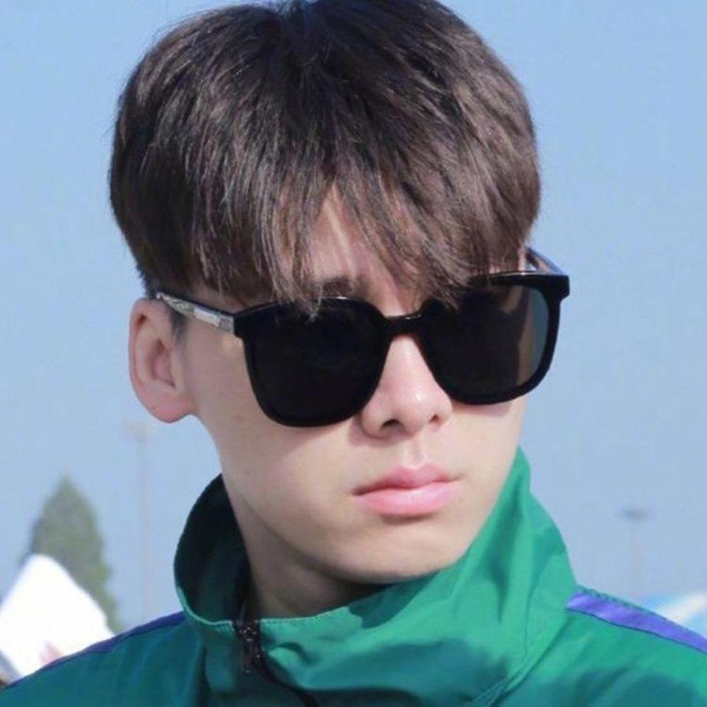 Sonnenbrille Männer 2020 Neue Trend Hübsche GM Myopie Polarisierte Auge Runde Gesicht Netto Rot Für Fahren