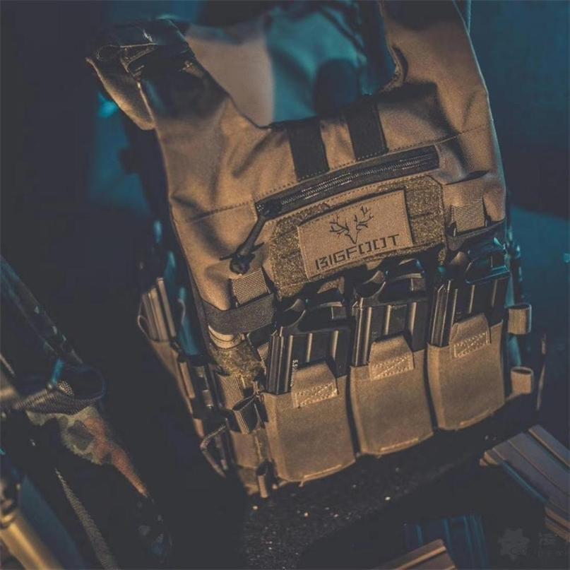 BF GTPC 2.0 Release rapido Leggero Tactical Plate Plate Carrier Getting Gilet da caccia All'aperto Tiro di tiro Allenamento Molle Gilet per Airsoft 201215