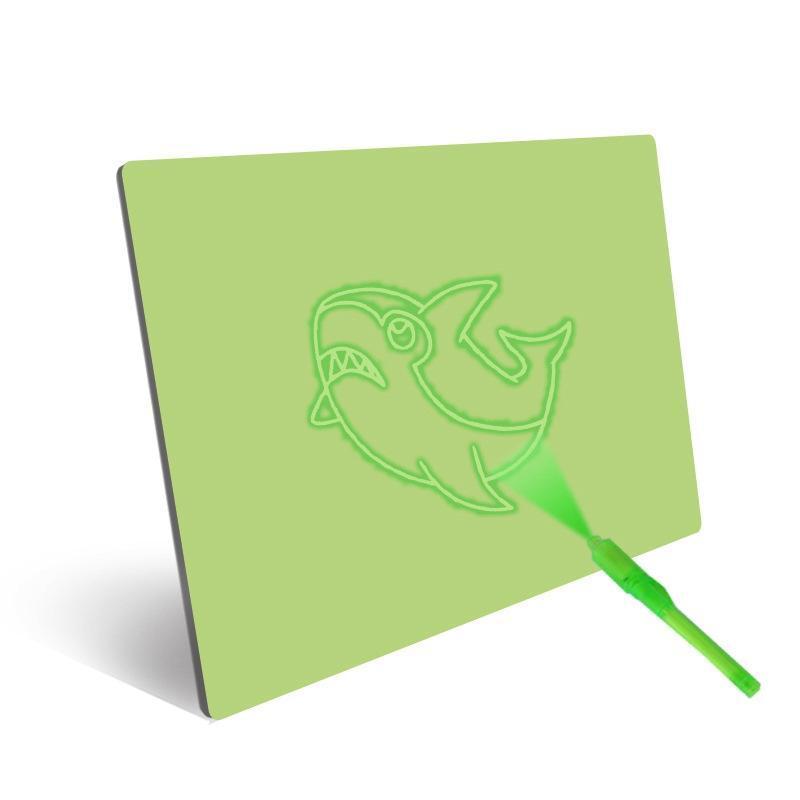 Puzzle Dessin Jouets Sketchpad enfants Planche à dessin Graffiti non magnétique fluorescent Drawing Board