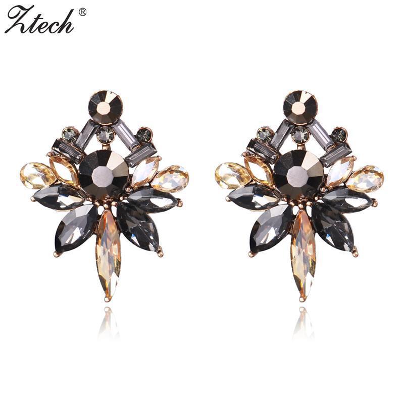Gli orecchini di dichiarazione Orecchini gioielli Ztech modo caldo del partito poco costoso all'ingrosso di nozze per le donne di marca Boho femminili all'ingrosso