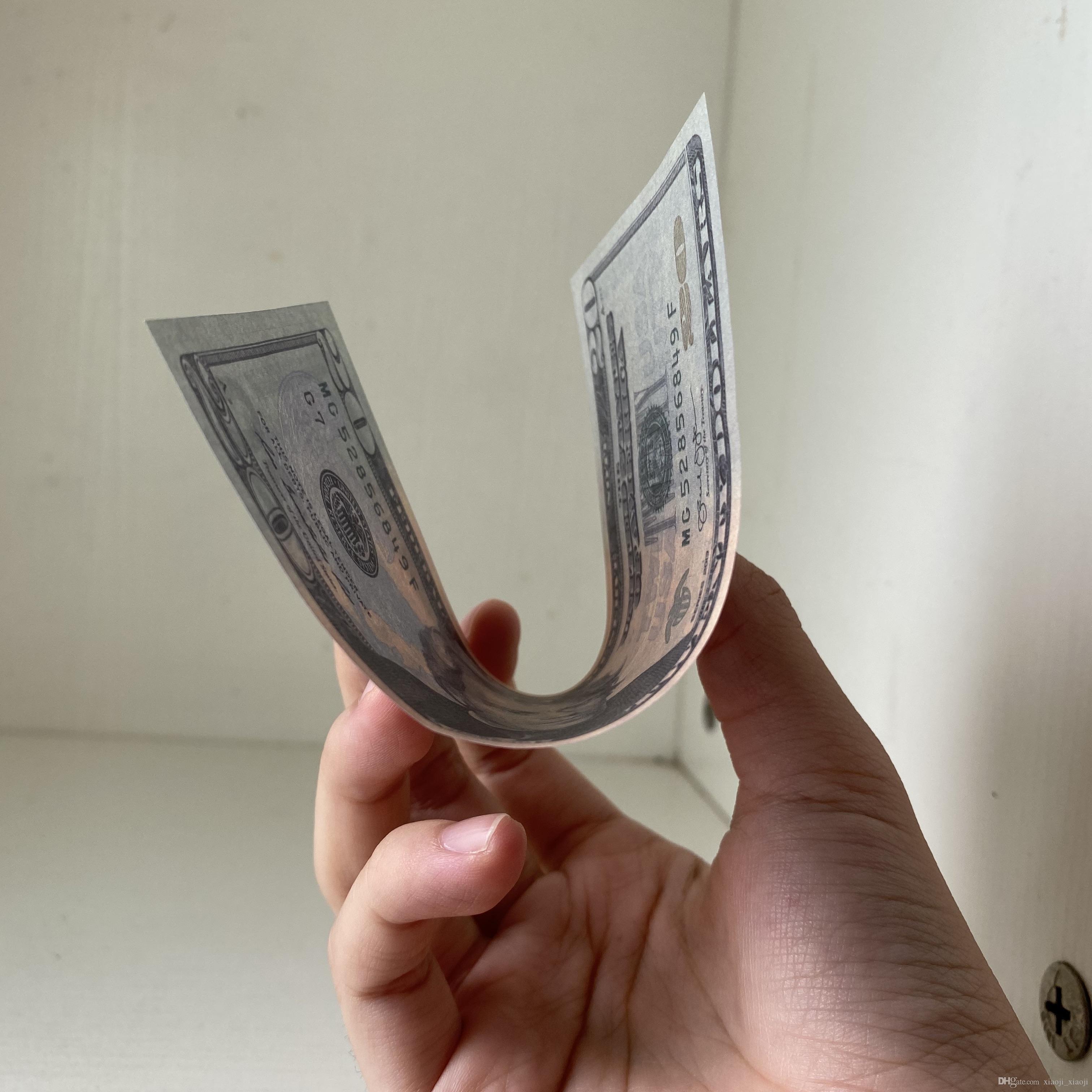 Crianças Atacado Melhor Contagem de Movie Prop Fake Decoração Dollor 014 Dinheiro Qualidade Falso dinheiro para vídeo Home Dinheiro Filme 20 CNQPR