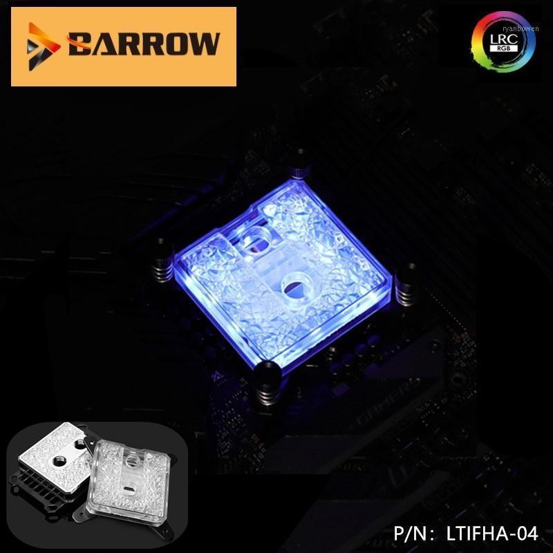 Fans Kühles Barrow-Wasserkühlung CPU-Kühler LTIFHA-04, CPU-Blöcke für Ryzen AMD-Plattform 5V 3Pin RGB-Header AM4-Prozessor Kupferkühler1
