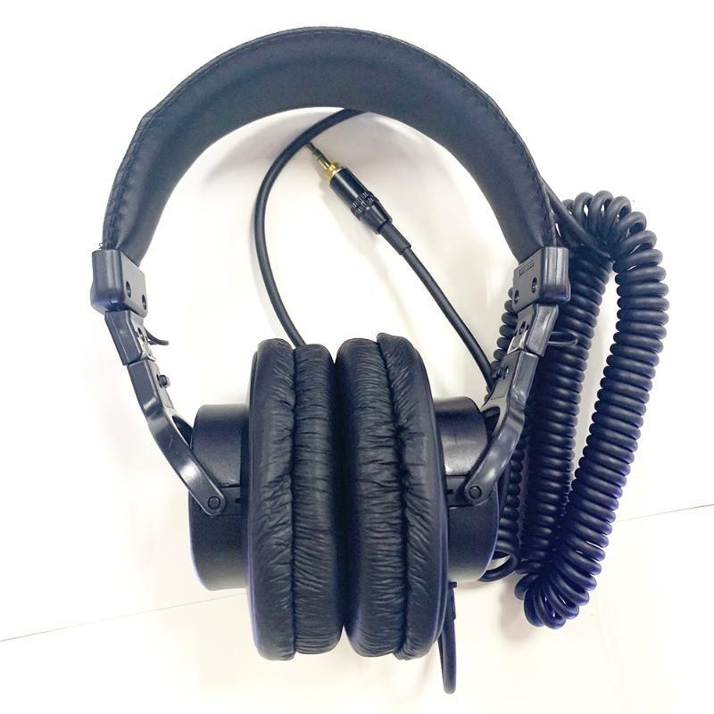 Fones de ouvido fones de ouvido MDR 7506 cabeça faixa estéreo jogo de computador DJ monitor grande diafragma fone de ouvido para encantos Sony portátil (não original)