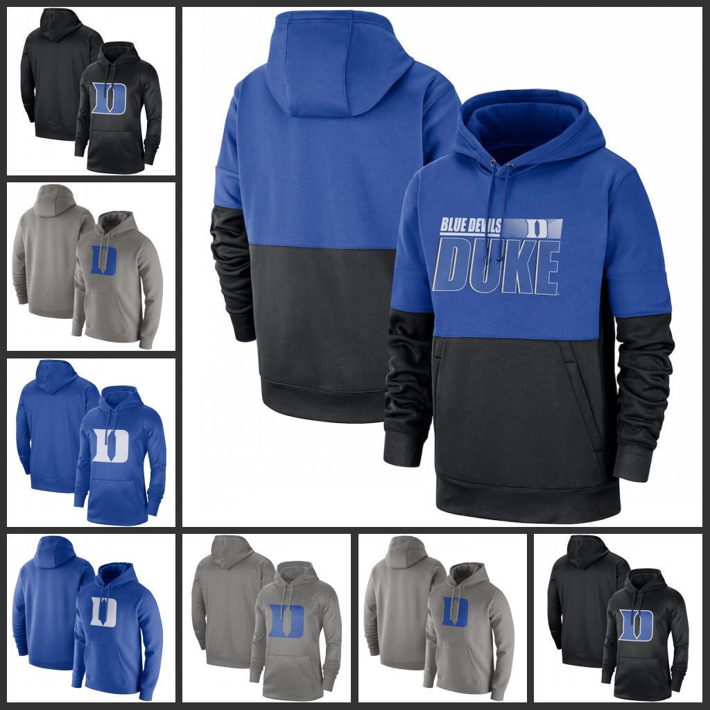 2020 Duke Blue Devils sudaderas de oliva Recon Rojo Gris Camo Marina Real Victoria línea lateral de Therma-FIT Rendimiento club Fleece Pullover sudaderas