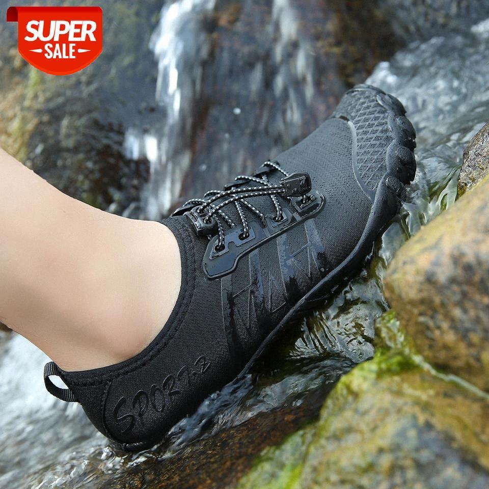 Männer Wasser Aqua Schuhe Frauen Fünf Zeh Schwimmen Sneakers Barefoot Sandalen für Kinder Strand Wanderschuhe Atmungsaktiv Schnelle Trockenschuhe # AS6H