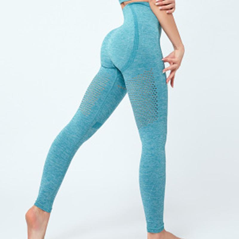 0927 Nefes tozluk Yüksek bel Kalça pantolon Hızlı kuru yukarı itin seksi CHRLEISURE Fitness tozluk kadın
