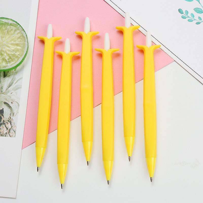 36 teile / los 0,5 / 0,7mm Bananenkaktus Mechanische Bleistift Nette Karotte Automatische Zeichnung Stift Schule Schreiben Liefert Schreibwaren Geschenk1