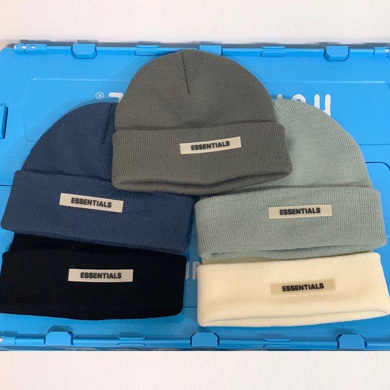 Essentials Beanie Kış Şapkalar Kadın Erkek Sonbahar Docker Için BRIMLESS KAP Tasarımcı Toptan Bayanlar Aksesuarları Skullcap Hip Hop Açık Rahat