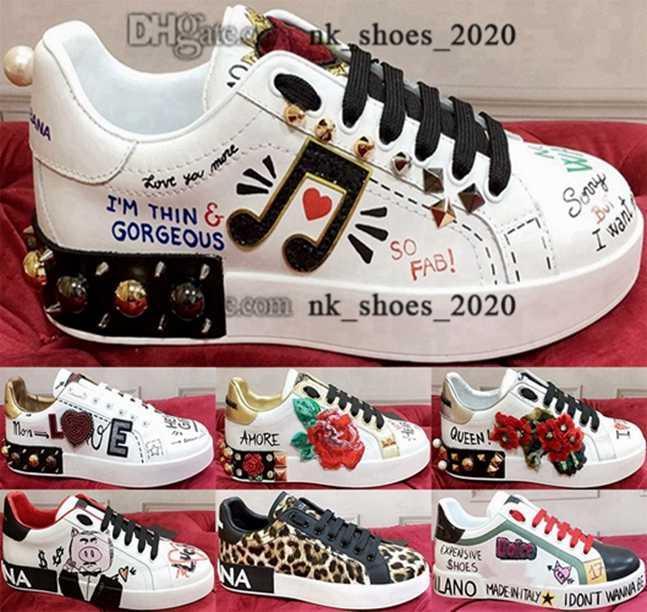 Tasarımcı Eğitmenler Ayakkabı Sneakers Moda Platformu Kadın Portofino Sneaker Boyutu ABD Lüks Casual 35 46 5 Kaykay Enfant Spor 12