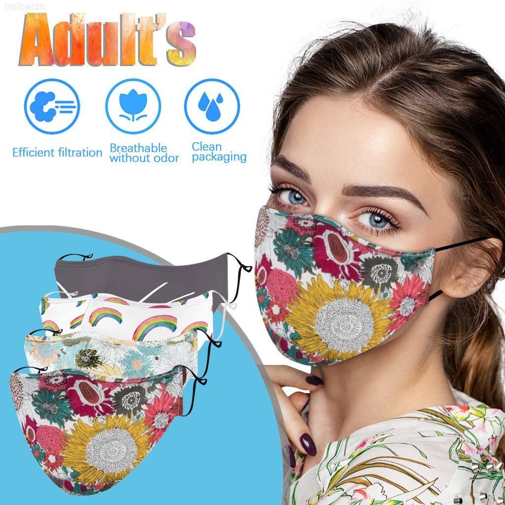 Máscara de tela Máscaras Floral Lavable Reutilizable Cara de impresión Diseñador a prueba de viento CUBIERTE CUBIERTE CUBIERTAR MUJER FACEESTASKS FACESHC1