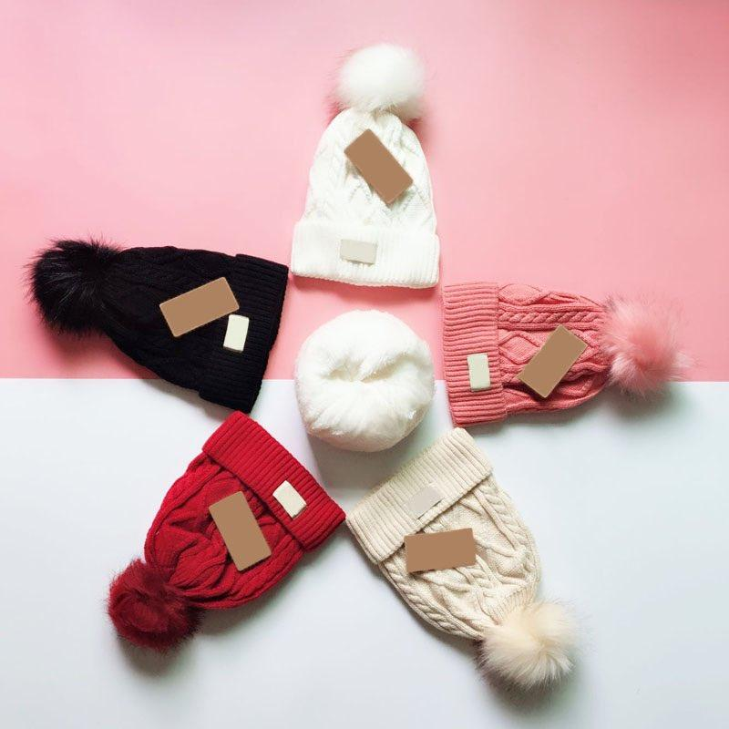 5 Colors Fashion Women Knitted Caps Inner Fine Hair Warm And Soft Beanies Brand Crochet Hats 130g Wholesale