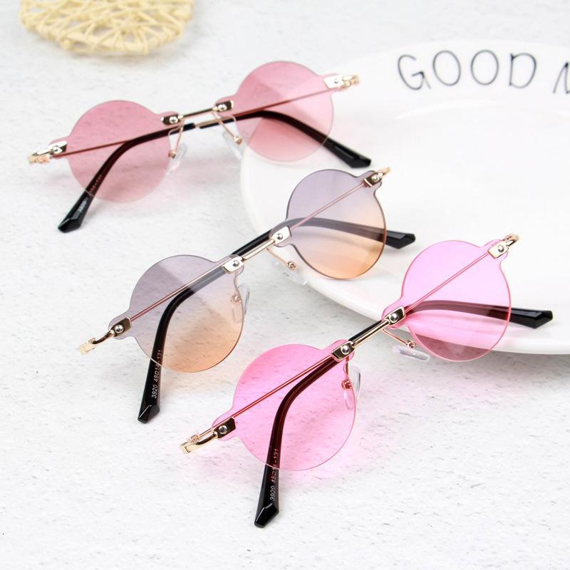 Enfants Sun Sunfly Boys Cadre Cadre Rond Girls Shapes Sunglasses Bnhsd Mode lunettes lunettes métalliques lunettes lunettes de lunettes Krrrk Krrrk
