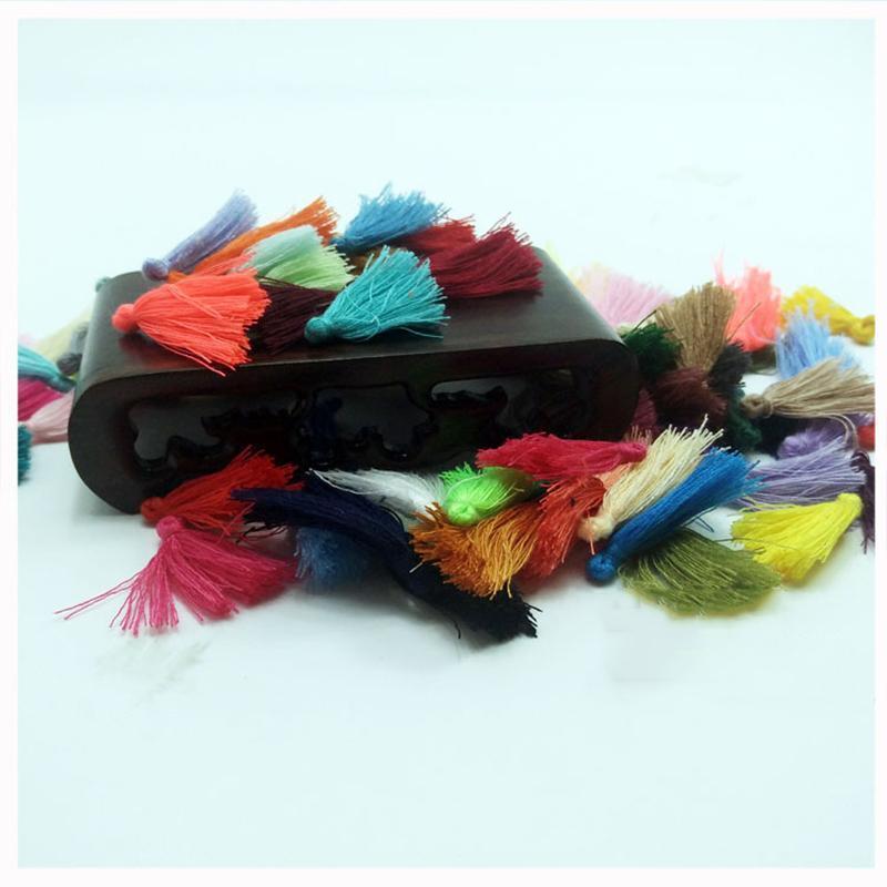 200pcs Lot 3cm Clothing Accessories Key Tassel Outer Ring Sewing Tassel Trim Decorative Key Tassels For Curtain Home Decoration H jllXOn