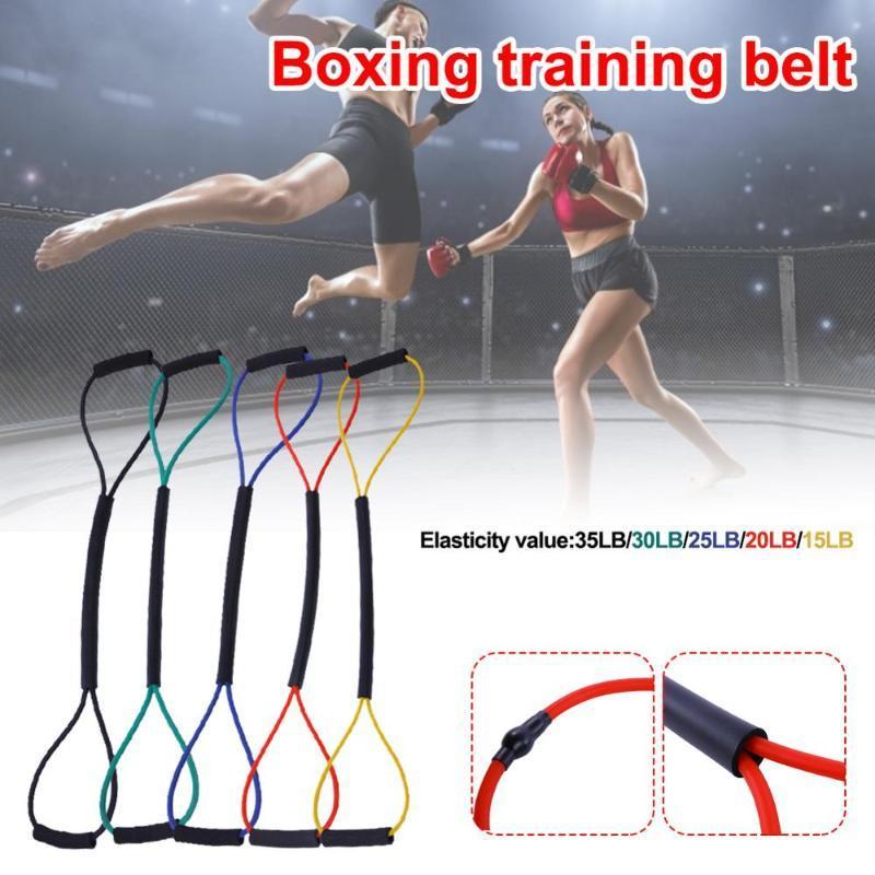 Widerstandsbänder Band Boxing Übung Geschwindigkeit Trainingseil Power Stärke Ausrüstung für Muay Thai Karate Crossfit Workout