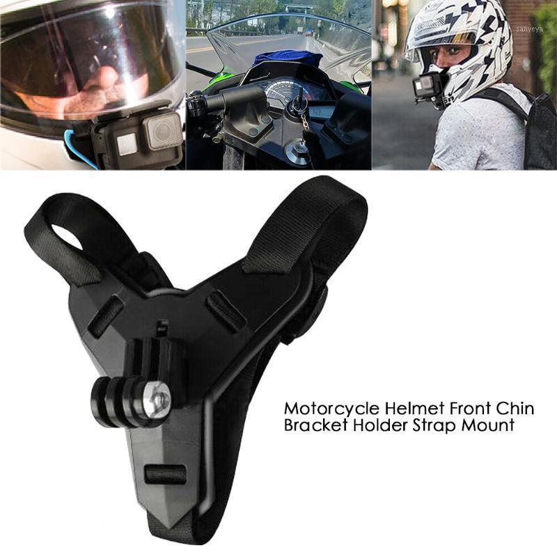 1 шт. Full Face Flatmet Hing держатель горы для героя 8 6 5 мотоциклетный шлем подбородок стойка камеры аксессуары для Go Pro Hero 81
