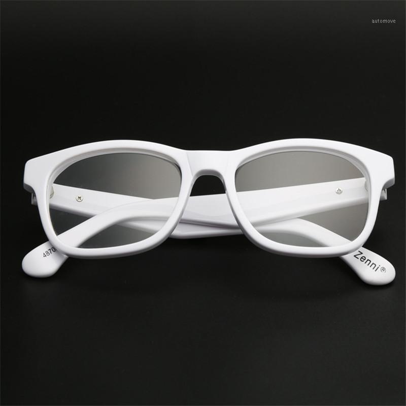 Zerosun White Read Lunettes 1.25 1.75 2.0 2.5 1.0 1.5 4.5 5 Hommes Femmes Femmes Lunettes de diopère Cadres 0.5 0.751