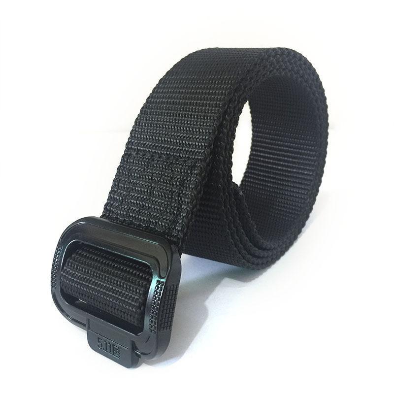 newCanvas Cinturón de secado rápido de los hombres de nylon aleación CQB Cinturón táctico al aire libre de entrenamiento juvenil lienzo