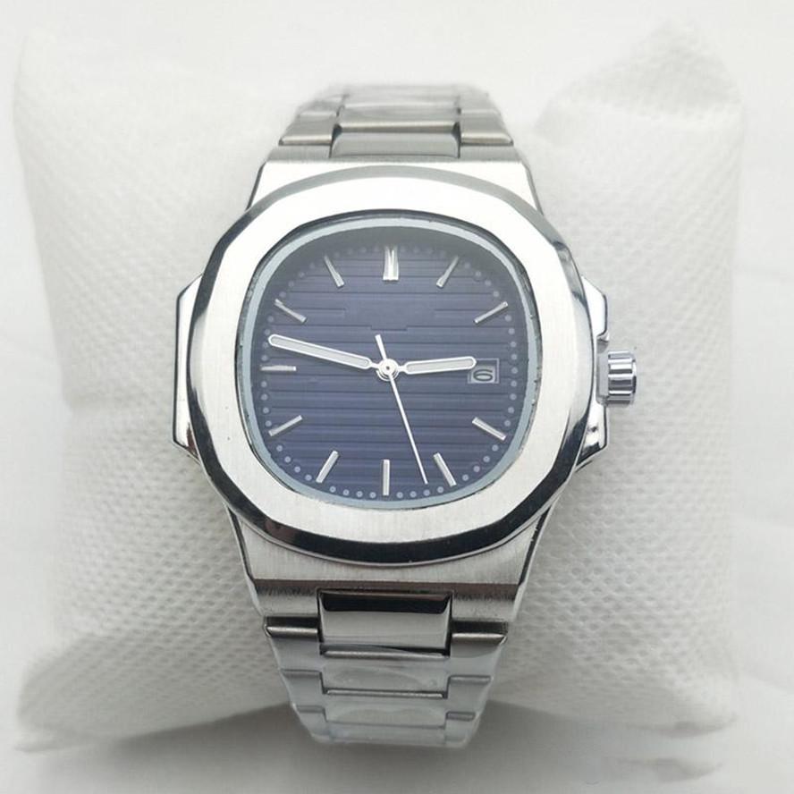 2021 Neue Wasserdichte Uhren Coole Männeruhr Mode Armbanduhren Sport Edelstahl Quarzkalender Herrenuhren Geschenk