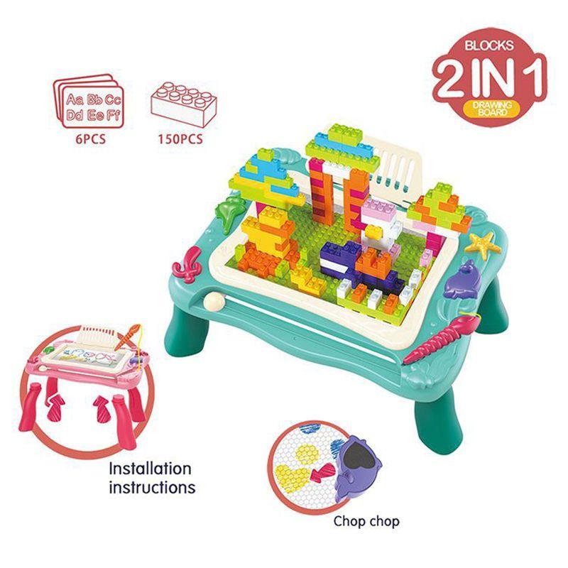 21% de projecto magnética escritório bloco Desk Toy bloco de desenho da tabela de arquitectura educação multifuncional novidade presente das crianças