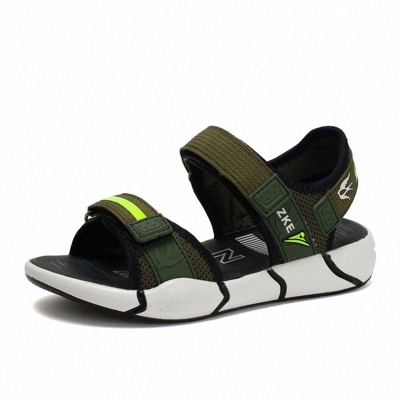 2020 Moda Praia Nova Crianças sandálias para Meninos Verão sapatos macios Outdoor miúdos criança Sandasl Sapatas de bebê 50cg #