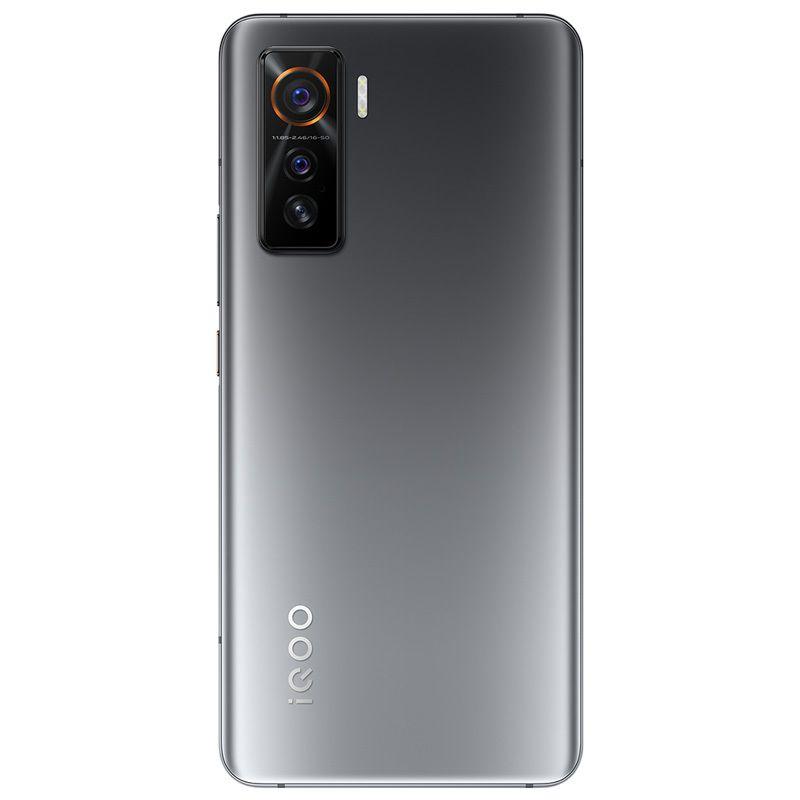 "Original vivo iqoo 5 5g Handy 8 GB RAM 128 GB ROM Snapdragon 865 Octa Core Android 6.56 ""Am gelöster Vollbildschirm 50.0mp AR NFC Fingerprint-ID FACE WACK SMART-Handy"