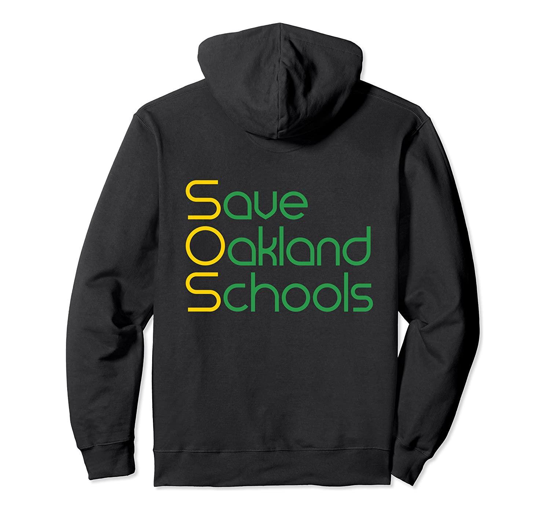 Guardar las escuelas de Oakland Sudadera con capucha unisex del tamaño S-5XL con Color Negro / gris / azul marino / azul real oscuro Heather /