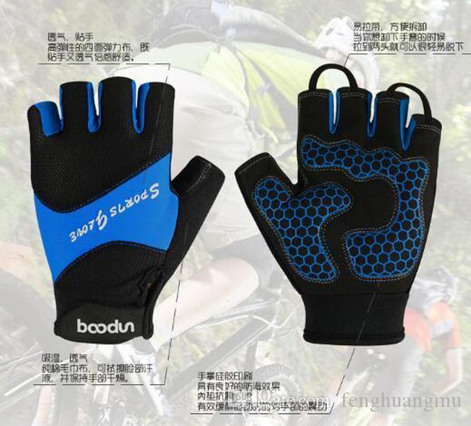 Gants de randonnée sans doigts pour enfants enfants enfants extérieur vélo gants de vélo moto vélo livraison gratuite Abraham1