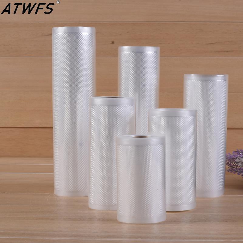 ATWFS 1500cm Вакуумные мешки Мешок Кухонные хранения для вакуумной Sealer Saver Fresh Vacum Bag 1500cm * 15/20/25/28 / 30см / рулон