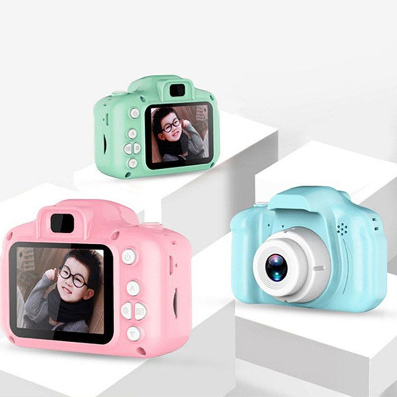 Kinder-Kamera Mini-Digital-nette Kamera für Kinder High Definition 1080 Smart-Schießen Video-Aufnahme-Funktion Toy Cameras Geschenke 201004