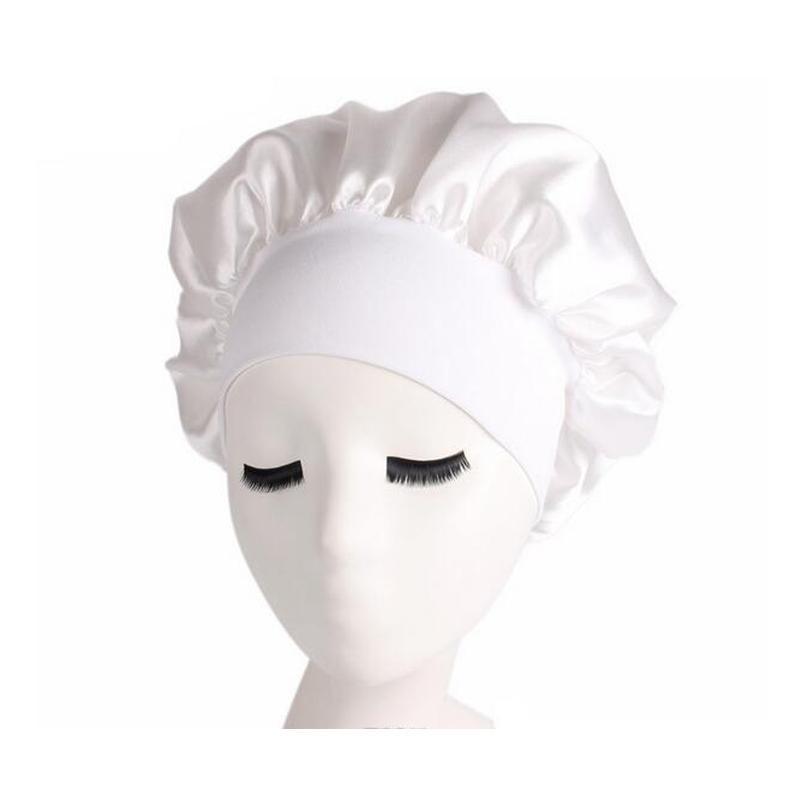 Femmes Bonnet Chemo Cap Designer Durag Chapeaux Durags Muslim Satin Satin Respirant Bandana Sleeping Turban Chapeau Womens Headwra Wmtyln Homes2007