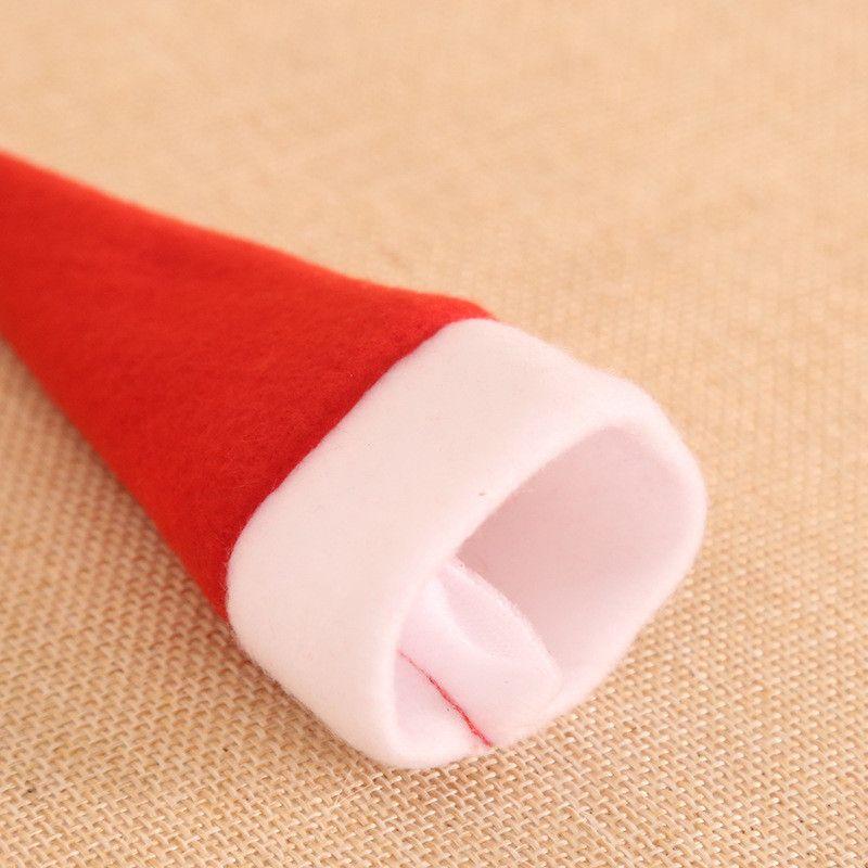 Gift Bag Cappelli di Natale cappello del pupazzo di neve della forcella della lama Cover Set Per la casa Dinner Party Decorazione DHL GGE1783 spedizione gratuita
