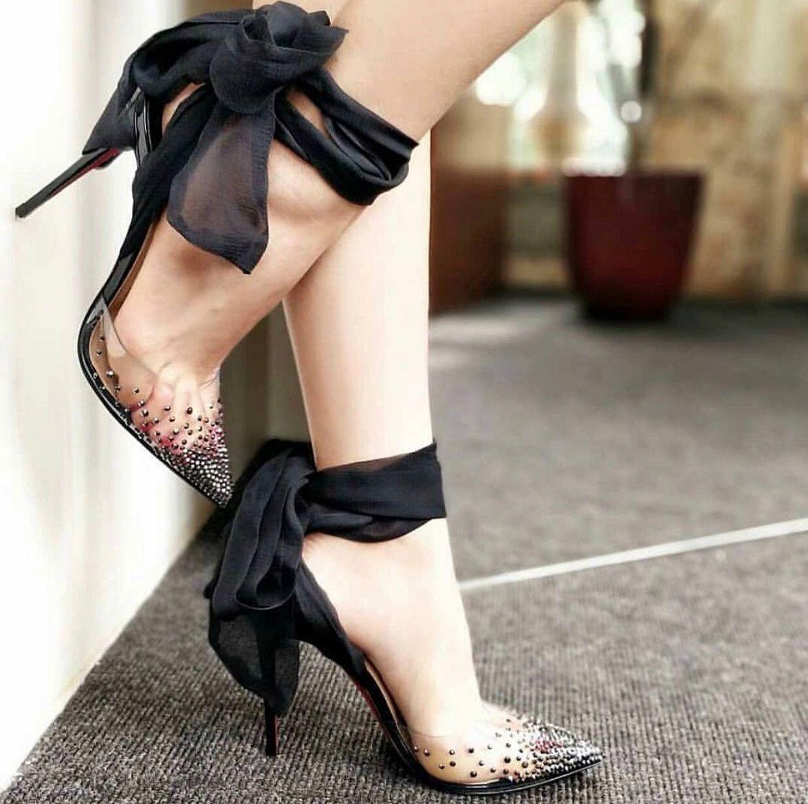 Sexy Frauen-Pumpen-spitze Zehe Stilett-Fersen für Dame-rote untere Schuh-Absatz-Kleid Perfekte rote Sohle Fest-Hochzeit mit Box, EU 35-43