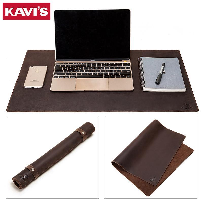 Kavis 2020 BOWHIDE in pelle bovina tappetino tappetino per computer tappetino per ufficio portatile da tastiera da tastiera per laptop per laptop