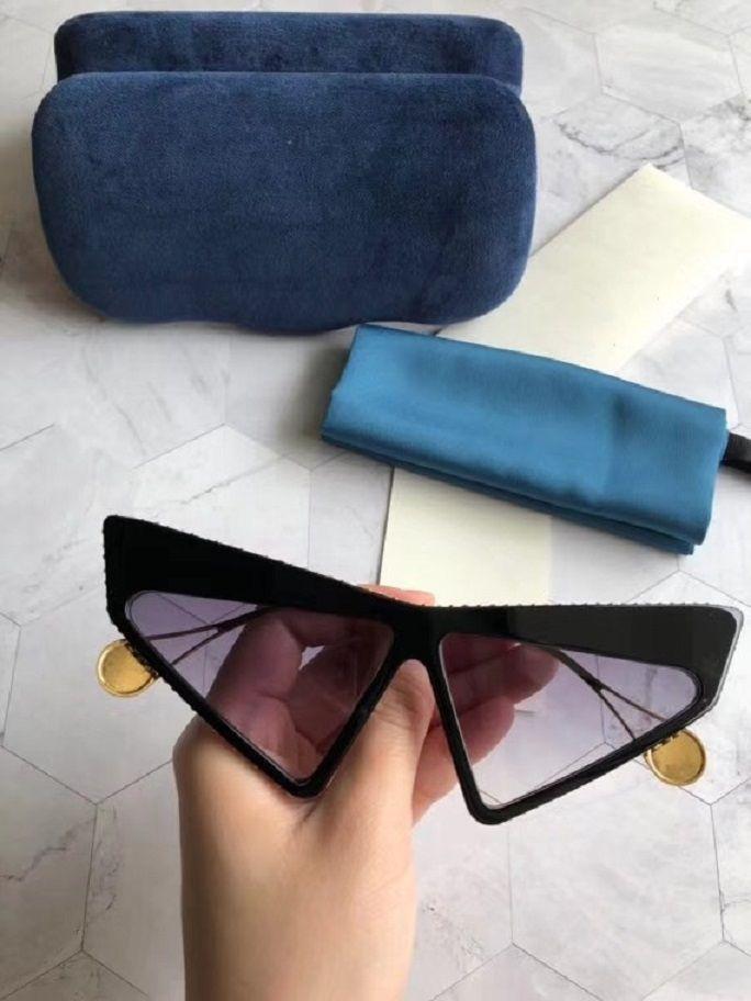 2021 جديد أعلى جودة 0430 رجل نظارات الرجال نظارات الشمس النساء النظارات الشمسية نمط الأزياء يحمي العينين مع مربع