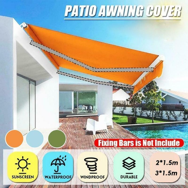 Çadırlar ve Barınaklar Çatı Kapağı Su Geçirmez Açık Tente Güneşlik Bahçe Avlu Plaj Kamp Patio Havuz Güneş Kanopi Çadır Barınak # 31