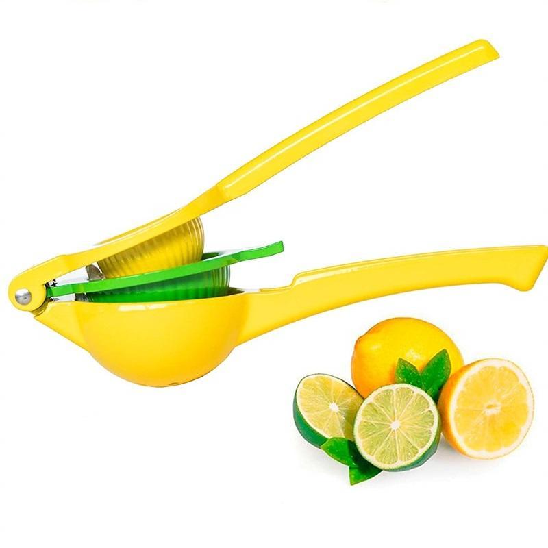 Çevre Dostu Limon Sıkacağı 2 1 En Iyi El Alüminyum Alaşım Limon Turuncu Narenciye Sıkacağı Basın Meyve Mutfak Aletleri 147 G2