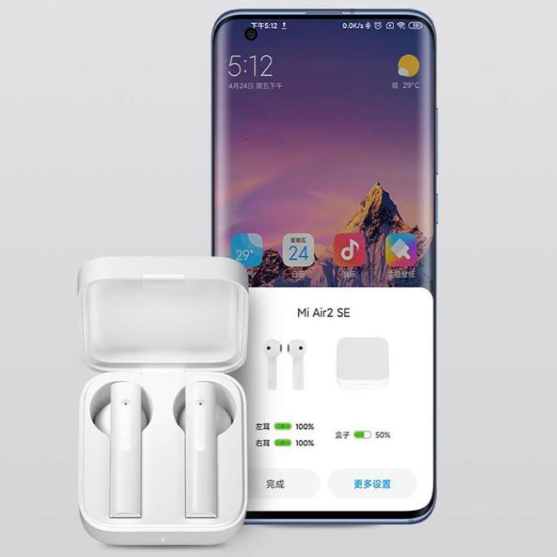 NEW Xiaomi AIR2 Беспроводные Bluetooth Наушники TWS Mi True Earbuds Airdots Pro 2se 2 SO SBC / AAC Синхронное Строкопочете Сенсорное управление