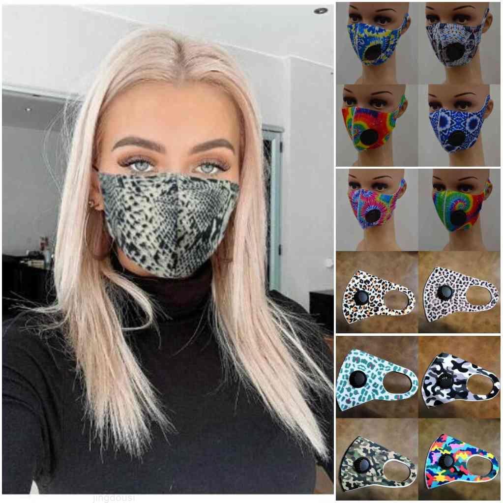 Face Designer Adulte Soie de glace chez Masques Camo American Stock Drapeau Personnalisé Soupape de respiration PROTECTION PROTECTION PROBOOOOOOP MASKS YT