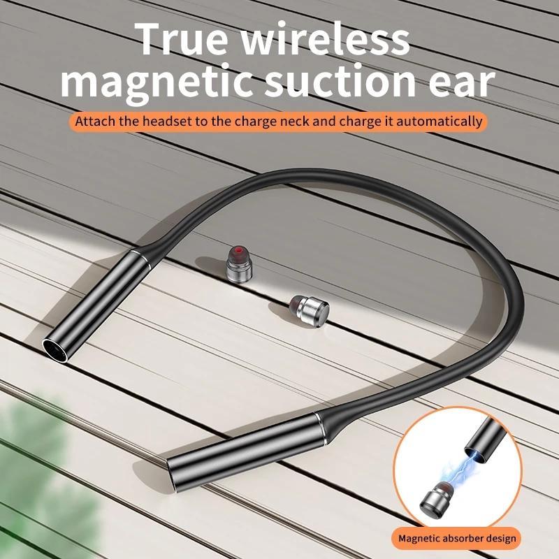 G30 Bluetooth наушники Спорт Magnetic V5.0 Стерео Спорт Водонепроницаемая Earbuds Беспроводные в ухе гарнитура с микрофоном
