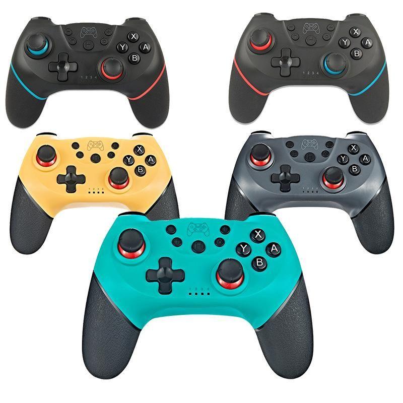 Игровые контроллеры Джойстики для NS-Switch Pro NS GamePad Беспроводной контроллер Bluetooth с 6-осевой ручкой