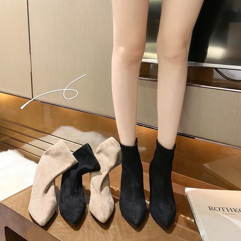 Damen Gummistiefel Schuhe Luxus Designer Winterschuhe Stiefel-Frauen Rain Rock Mode Herbst 2021 Ankle Damen Med
