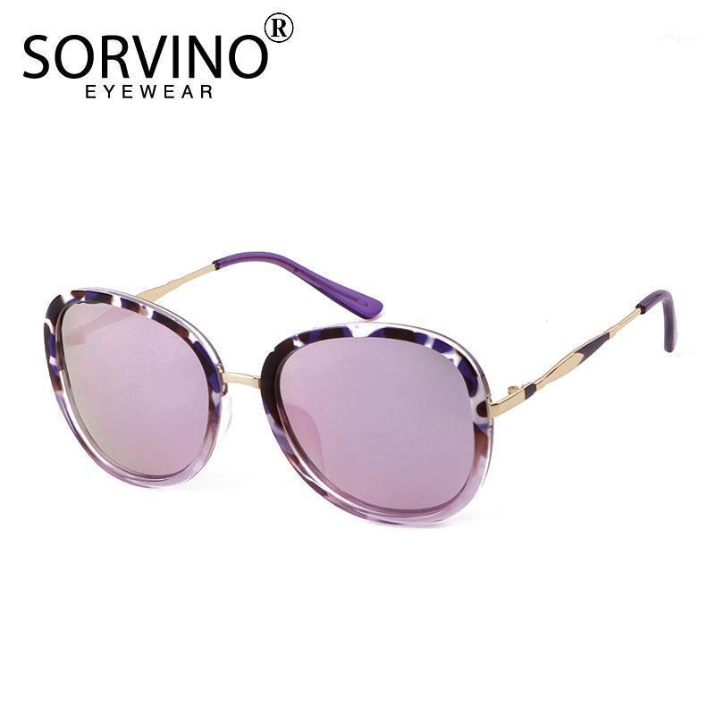 Sorvino Polarisierte Beschichtung Sonnenbrille Unisex Retro Aluminium Magnesiumspiegel Linse Vintage Eyewear Fahren Sonnenbrille UV4001