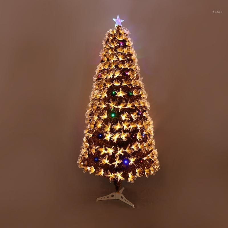 Multicolored Optical Fiber Tree 1.8m Encryption Simulation Optical Fiber Tree DIY Plastic LED Decorative1