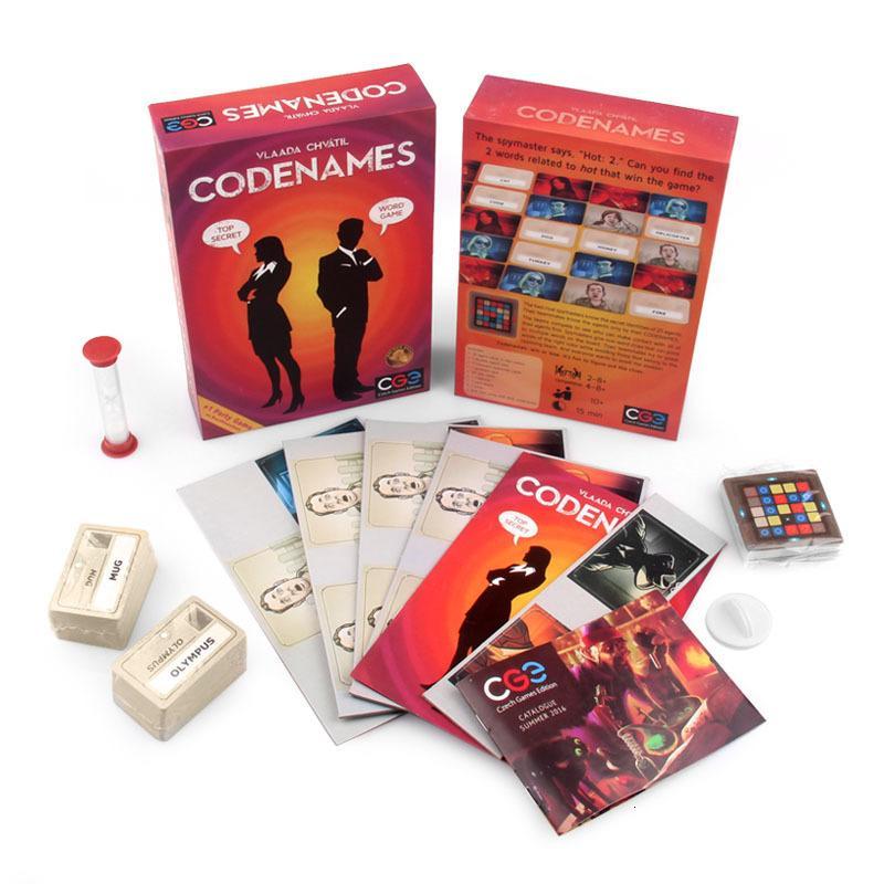 Carte regalo di Natale all'ingrosso gioco Codenames Party deduction parola