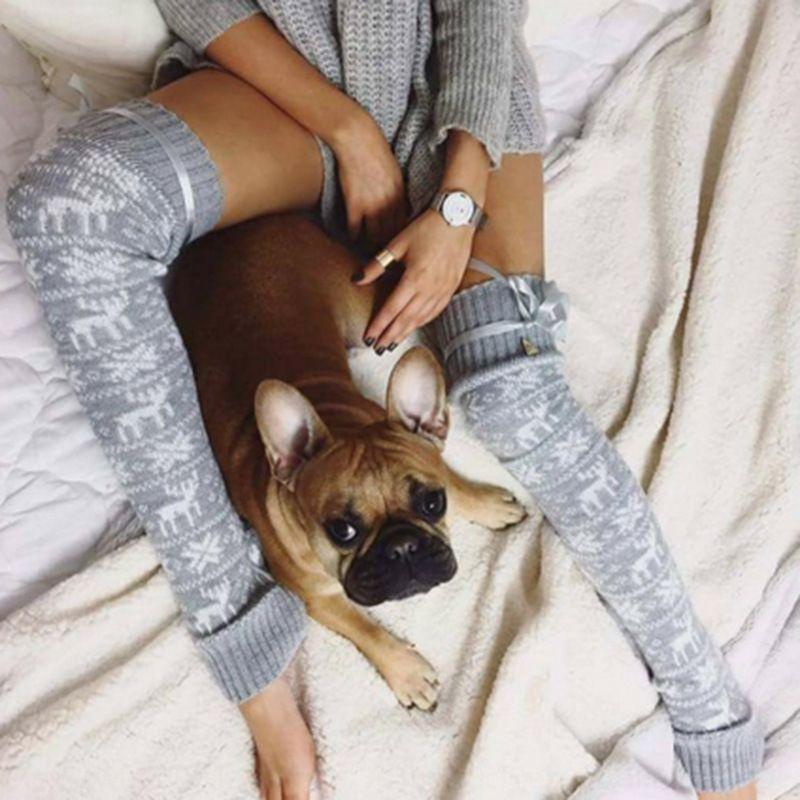 OvXq4 Navidad alces se acumulan las lanas el fb8w251d Navidad alces piel se acumulan medias calcetines de lana de lana calcetines medias de lana fb8w251d 0B8Oe