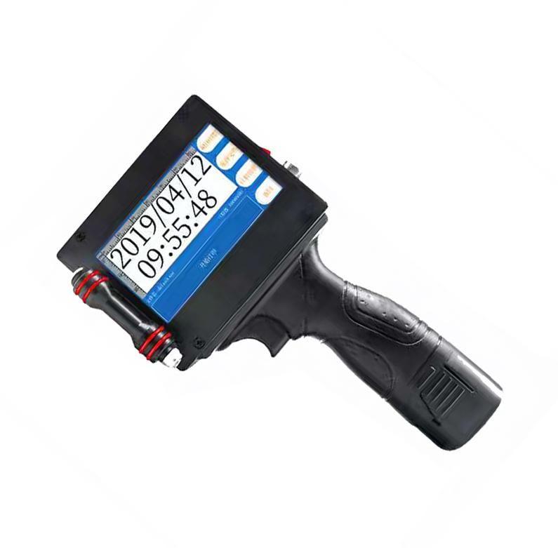impressora de gasoduto Handheld Inkjet Printer Data Batch QR LOGO portátil caducidade automática para o metal plástico vidro madeira