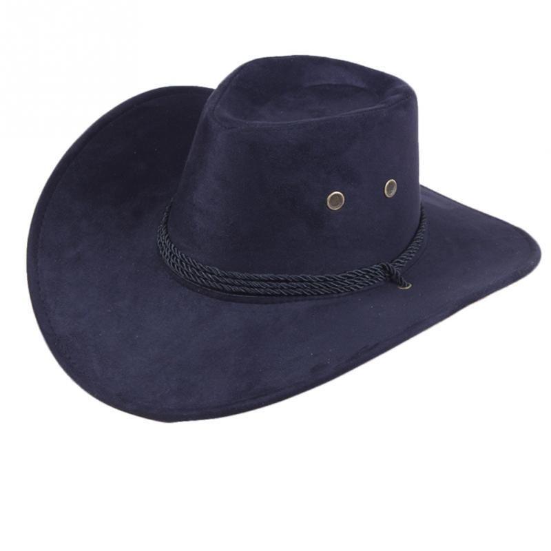 Kühle Western-Cowboy-Hüte Männer Sun Visor Cap Frauen Reise-Performance-Western-Hüte im Freien 7 Farben