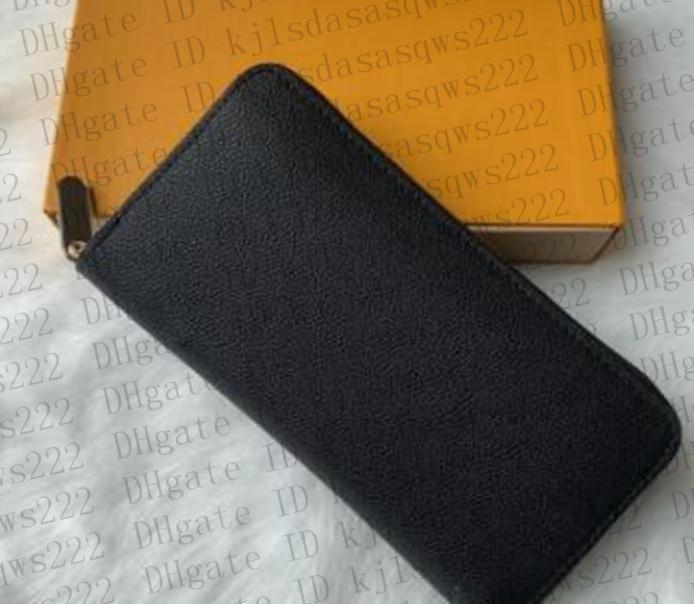 053 2021 Uzun Kredi Kartı Pasaport Tutucu Sikke Zippy Anahtar Kılıfı Çanta Deri Erkek Cüzdan Erkekler Cüzdan Bayan Çantalar Kadın Çanta Çanta